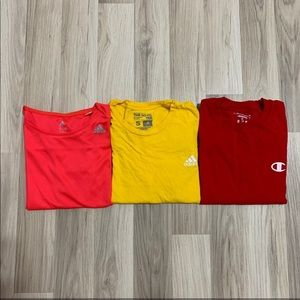 T-Shirt Bundle Adidas and Champion